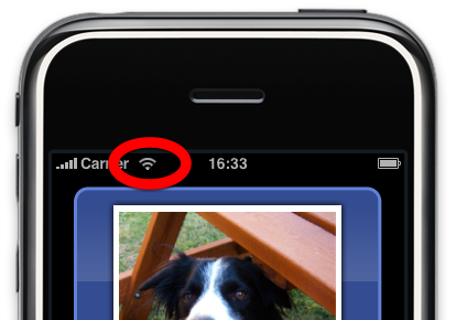 iphone 5 how to use wifi instead of data